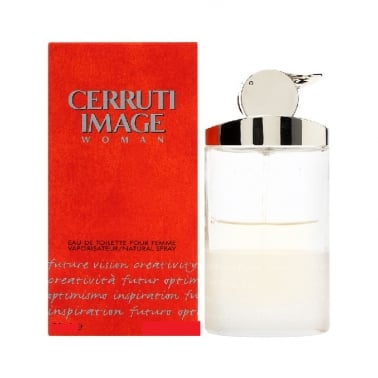 Cerruti Image For Women - 50ml Eau De Toilette Spray, Damaged Box