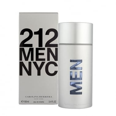 Carolina Herrera 212 - 50ml Eau De Toilette Spray + Free Shower Gel.