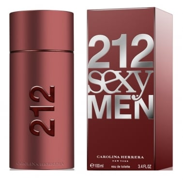 Carolina Herrera 212 Sexy Men - 50ml Eau De Toilette Spray + FREE Shower Gel.