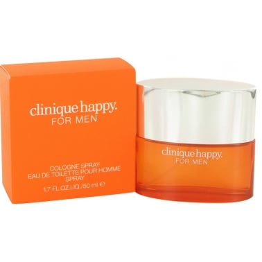 Clinique Happy for Men - 50ml Cologne Spray.