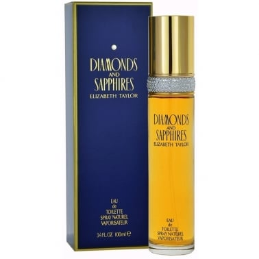 Elizabeth Taylor Diamonds & Sapphires - 100ml Eau De Toilette Spray