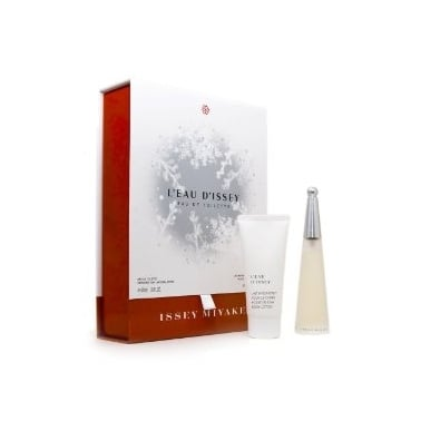 Issey Miyake L'eau D'issey - 50ml Perfume Gift Set With Shower Cream.