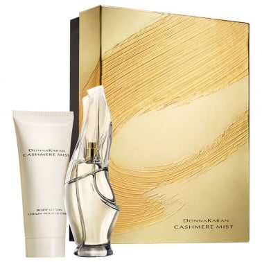DKNY Cashmere Mist - 50ml Perfume Gift Set With 100ml Body Lotion.