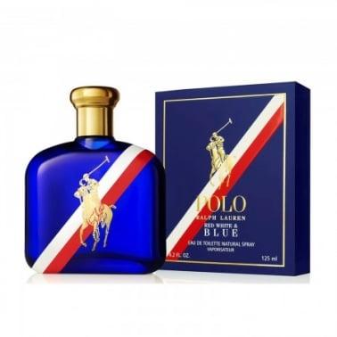 Ralph Lauren Polo Red, White and Blue 75ml Eau De Toilette Spray.