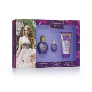 Wonderstruck By Taylor Swift - 30ml Perfume Gift Set.