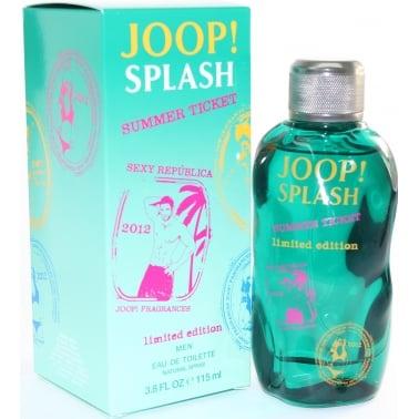 Joop! Splash Summer Ticket - 115ml Eau De Toilette Spray.