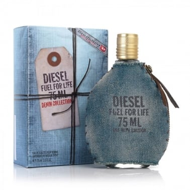 Diesel For Life Denim Collection Homme - 50ml Eau De Toilette Spray.