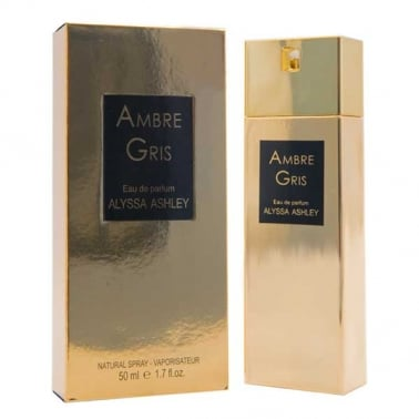 Alyssa Ashley Ambre Gris - 50ml Eau De Parfum Spray.