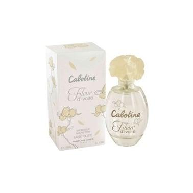 Gres Cabotine Fleur d'Ivoire - 100ml Eau De Toilette Spray.