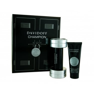 Davidoff Champion - 50ml Gift Set With 75ml Shampoo