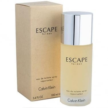 Calvin Klein Escape For Men - 100ml Eau De Toilette Spray.