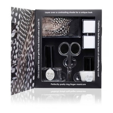 Ciate Feathered Manicure Set - All A Flutter.