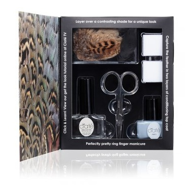 Ciate Feathered Manicure Set - Ruffle My Feathers.