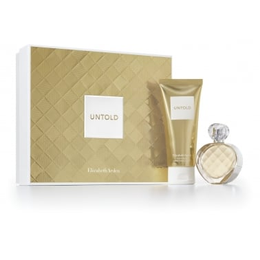 Elizabeth Arden Untold - 30ml Perfume Gift Set With 50ml Body Lotion.