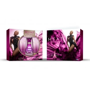 Beyonce Heat Wild Orchid - 30ml Gift Set With Body Lotion and Shower Gel.