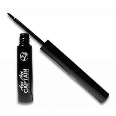 W7 Cosmetics Aye Aye Captain Very Black Liquid Liner.
