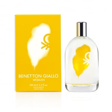 Benetton Giallo Women - 100ml Eau De Toilette Spray.
