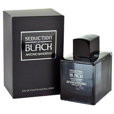 Antonio Banderas Seduction In Black 100ml Eau De Toilette Spray.