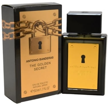 Antonio Banderas The Golden Secret -  100ml Eau De Toilette Spray.