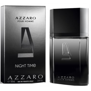Azzaro Night Time Pour Homme 100ml Eau De Toilette Spray.