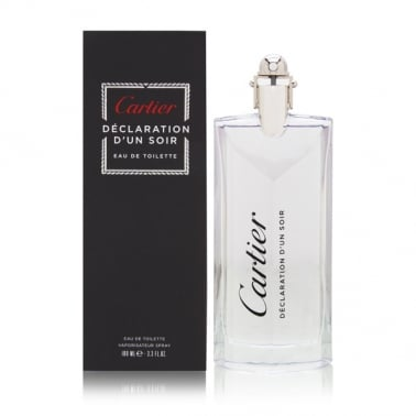 Cartier Declaration d'un Soir - 100ml Eau De Toilette Spray.