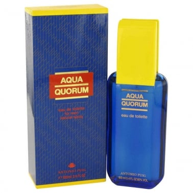 Aqua Quorum For Men - 100ml Eau De Toilette Spray.