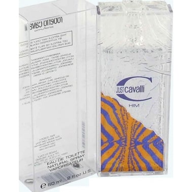 Roberto Cavalli Just Cavalli Him - 60ml Eau De Toilette Spray.