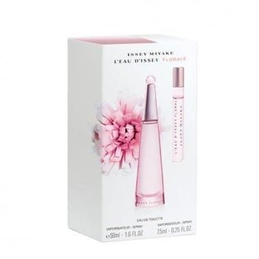 Issey Miyake L'Eau d'Issey Florale Ladies 90ml Eau De Toilette / 10ml EDT Spray