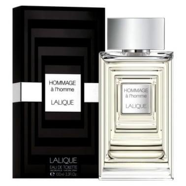 Lalique Hommage a L'Homme 100ml Eau De Toilette Spray.
