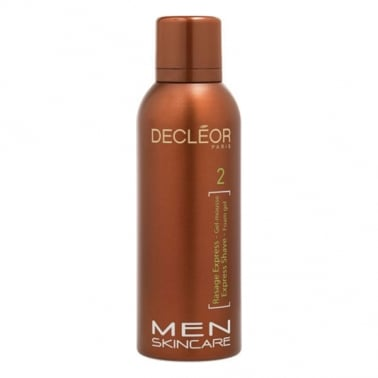 Decleor Men Skincare Express Shave Foam Gel 150ml