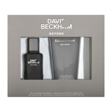David Beckham Beyond - 40ml Gift Set With 200ml Shower Gel.
