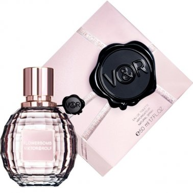 Viktor & Rolf Flowerbomb - 50ml Eau De Toilette Spray.
