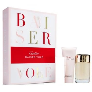 Cartier Baiser Vole 50ml EDP Gift Set With 100ml Shower Gel