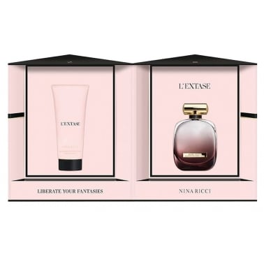Nina Ricci L'Extase - 80ml Perfume Gift Set With 200ml Body Lotion.
