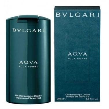 Bvlgari Aqua Pour Homme - 200ml Shampoo & Shower Gel.