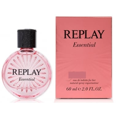 Replay Essential for Her - 60ml Eau De Toilette Spray.