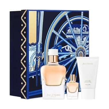 Hermes Jour d'Hermes Absolu 50ml Gift Set With 7.5ml EDP/ 30ml Body Lotion