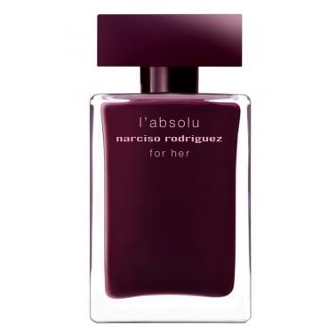 Narciso Rodriguez for Her L'Absolu - 100ml Eau De Parfum Spray.