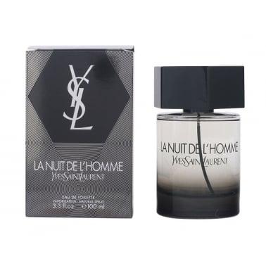 Yves Saint Laurent La Nuit De L' Homme - 100ml Eau De Toilette Spray.