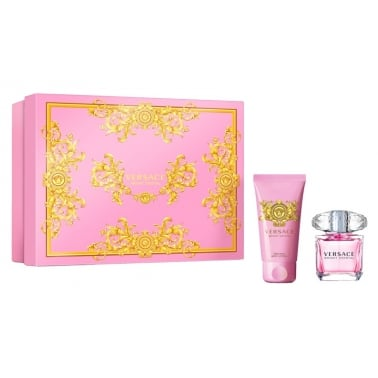 Versace Bright Crystal - 30ml EDT Spray & 50ml Perfumed Body Lotion.