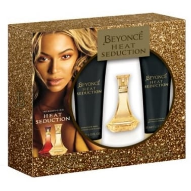 Beyonce Heat Seduction - 30ml EDT Gift Set With Shower gel and Body Lotion