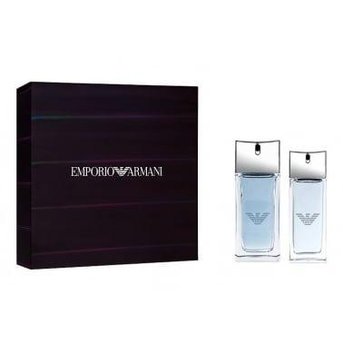 Emporio Armani Diamonds For Men - 50ml EDT Gift Set With 20ml EDT Spray.