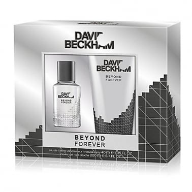 David Beckham Beyond Forever - 40ml EDT Gift Set With 200ml Shower gel.