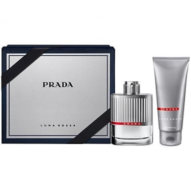 Prada Luna Rossa Homme - 100ml EDT Gift Set With 100ml Shower gel.