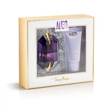Thierry Mugler Alien 15ml Eau De Parfum Spray With 30ml Body Lotion.
