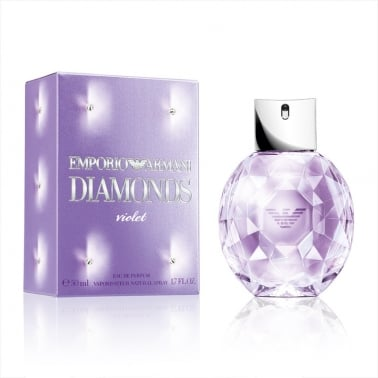 Emporio Armani Diamonds Violet - 50ml Eau De Parfum Spray.