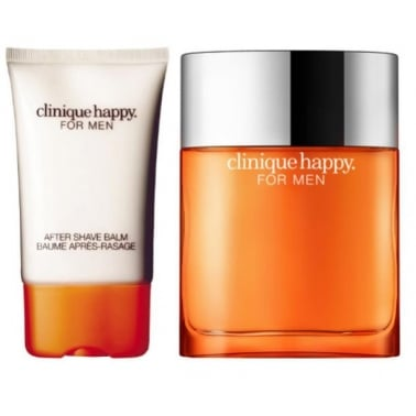 Clinique Happy for Men - 50ml Cologne Spray With 50ml Aftershave Balm