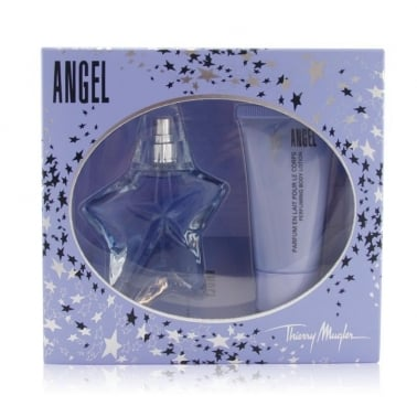 Thierry Mugler Angel - 15ml EDP Gift Set With 30ml Perfumed Body Lotion.
