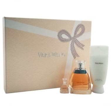Vera Wang For Women - 50ml Gift Set With Mini, 100ml Body Lotion, 100ml Shower