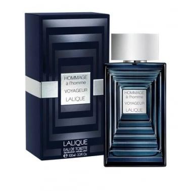 Lalique Hommage L'Home Voyageur - 100ml Eau De Toilette Spray.